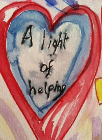 A light of helping