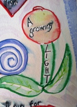 A growing light