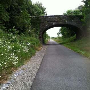 Bridge on old rail trail