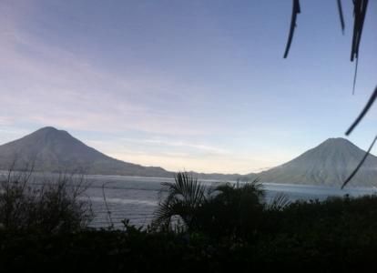 Sunrise over Lake Atitalin
