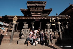 Our tour group in Nepal