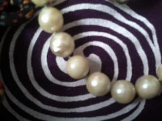 Pearls in the center